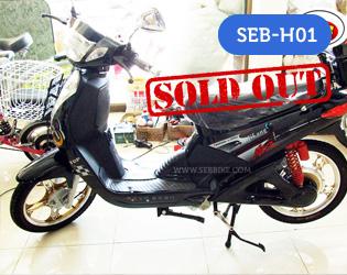 จักรยานไฟฟ้า SEB-H01