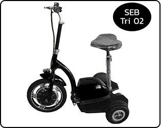 จักรยาน 3 ล้อไฟฟ้า SEB-Tri 02