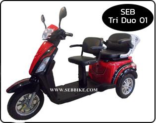 จักรยาน 3 ล้อไฟฟ้า SEB-Tri Duo 01