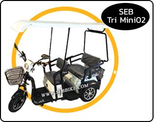 จักรยาน 3 ล้อไฟฟ้า SEB-Tri Mini 02